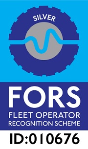 We were awarded FORS Silver!
